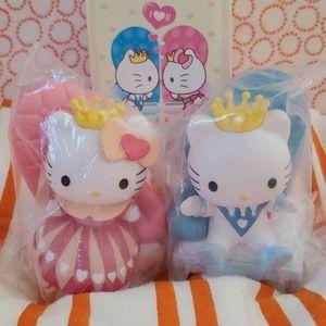 HELLO KITTY Princess & King DANIEL Figure